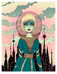 Picture of Tara McPherson Stellar Revolution Print