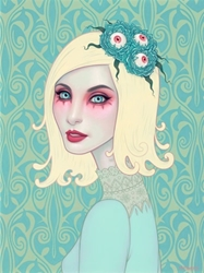 Picture of Tara McPherson Eyes On You Print