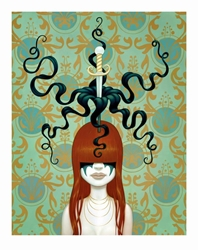 Picture of Tara McPherson Sword Swallower Print