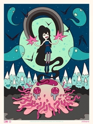 Picture of Tara McPherson Marceline Adventure Time Print