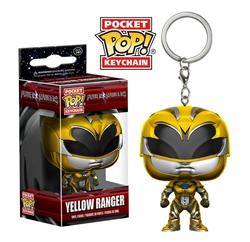 Picture of Pocket Pop Yellow Ranger Vinyl Keychain