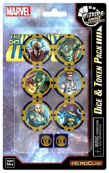 Picture of Marvel HeroClix Avengers Infinity Dice & Token Pack
