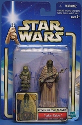 Picture of Star Wars Attack of the Clones Tusken Raider (Female with Tusken Child) #08 Action Figure