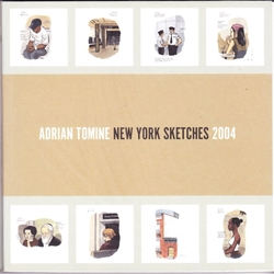 Picture of Adrian Tomine New York Sketches 2004 SC
