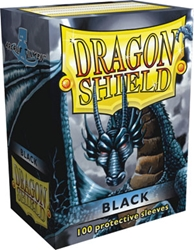 Picture of Dragon Shield Black Card Sleeve 100-Count Pack