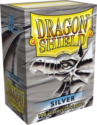 Picture of Dragon Shield Silver Card Sleeve 100-Count Pack