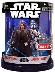 Picture of Star Wars Anakin Skywalker and Airborne Trooper Order 66 Action Figure 2-Pack