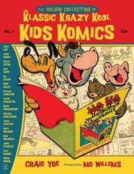 Picture of Golden Collection of Klassic Krazy Kool Kids Komics Vol 01 HC