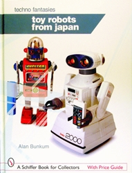Picture of Toy Robots from Japan Hardcove