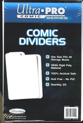 Picture of Comic Plastic Dividers 25-Count Pack