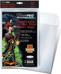 Picture of Comic Current Resealable Bag 100-Count Pack