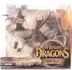 Picture of McFarlane's Dragons Komodo Dragon Quest for the Lost King Action Figure