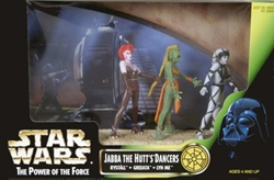 Picture of Star Wars Jabba the Hutt's Dancers Power of the Force Cinema Scene Action Figure