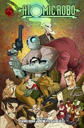 Picture of Atomic Robo & the Revenge of the Vampire Dimension TP VOL 04 Atomic & Other Strangeness