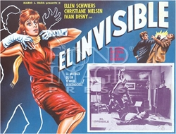 Picture of El Invisible Mexican Movie Poster Magnet