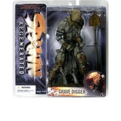 Picture of Spawn Series 28 Regenerated Grave Digger Action Figure