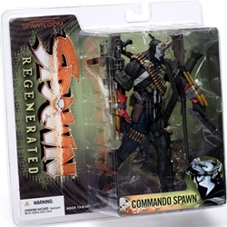 Picture of Spawn Series 28 Regenerated Commando Spawn 2
