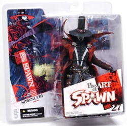Picture of Spawn Series 27 Art of Spawn i.119 Issue 119 Interior Art Action Figure