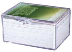 Picture of Card Hinged Plastic 100-Count Case