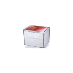 Picture of Card Hinged Plastic 150-Count Case