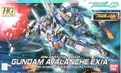 Picture of Gundam 00 GN-001/hs-A01D Gundam Avalanche Exia High Grade 1/144 Scale