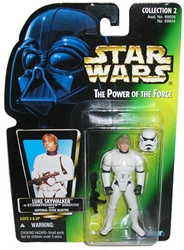 Picture of Star Wars Luke Skywalker Stormtrooper Disguise Power of the Force Action Figure