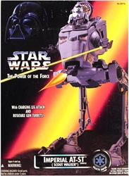Picture of Star Wars Imperial AT-ST (Scout Walker) Power of the Force