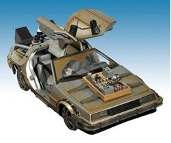 Picture of Back to the Future DeLorean Rail Ready Figure