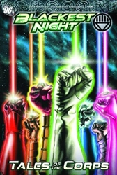 Picture of Blackest Night Tales of the Corps HC