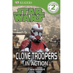 Picture of Star Wars Clone Troopers in Action! DK Readers Beginning to Read (2)