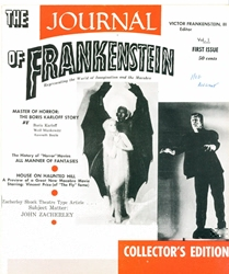 Picture of Journal of Frankenstein #1