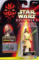 Picture of Star Wars Episode I Commtech Chip Qui-Gon Jinn (Jedi Duel) Action Figure