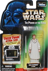Picture of Star Wars Power of the Force Freeze Frame Mon Mothma Action Figure