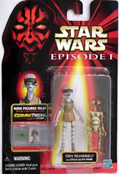Picture of Star Wars Ody Mandrell with Otoga Pit Droid Episode I Commtech Chip Action Figure