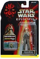 Picture of Star Wars Episode I Commtech Chip Jar Jar BinksAction Figure