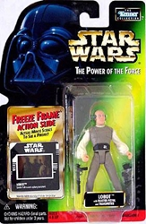 Picture of Star Wars Lobot Freeze Frame Power of the Force Action Figure