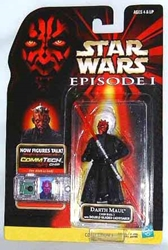 Picture of Star Wars Episode I Commtech Chip Darth Maul (Jedi Duel) Action Figure