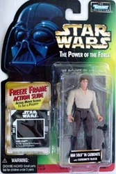 Picture of Star Wars Han Solo in Carbonite Power of the Force Freeze Frame Action Figure