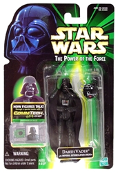 Picture of Star Wars Darth Vader (with Imperial Interrogation Droid) Power of the Force Commtech Chip Action Figure