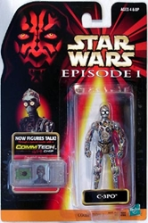 Picture of Star Wars C-3PO Commtech Chip Episode I Action Figure