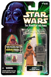 Picture of Star Wars Power of the Force Commtech Chip Jawa and Gonk Droid Action Figure