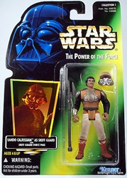 Picture of Star Wars Lando Calrissian Skiff Guard Power of the Force Action Figure