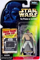 Picture of Star Wars Lando Calrissian General's Gear Freeze Frame Power of the Force Action Figure
