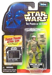 Picture of Star Wars Power of the Force Freeze Frame Endor Rebel Soldier Action Figure