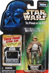 Picture of Star Wars Power of the Force Freeze Frame Orrimaarko (Prune Face) Action Figure