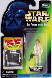 Picture of Star Wars Power of the Force Freeze Frame Princess Leia Organa (Hoth Gear) Action Figure
