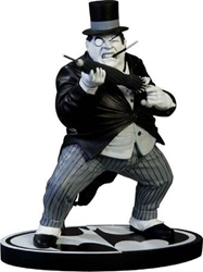 Picture of Penguin Black and White Statue