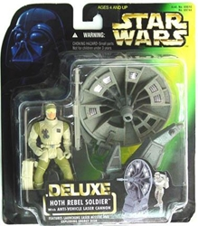 Picture of Star Wars Power of the Force Hoth Rebel Soldier Deluxe Action Figure