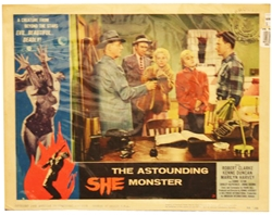 Picture of Astounding She Monster Lobby Card