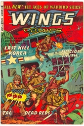 Picture of Wings Comics #122